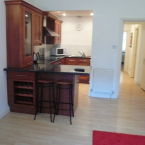 Kitchen and Dining in Croydon serviced apartments
